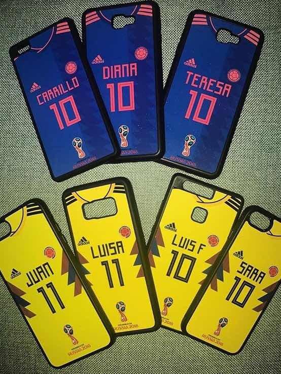dc29109a334 Carcasas Personalizadas Selección Colombia Mundial Rusia ...