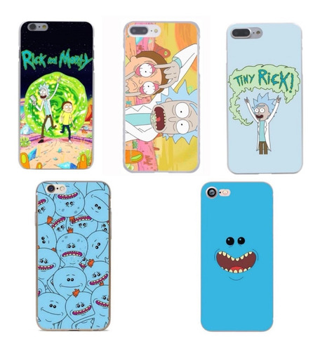 carcasas rick and morty iphone 5/5s/se/6/6s/7/8