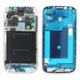 Bisel O Marco Para Samsung S4 I9500 Borde Plateado Para Lcd