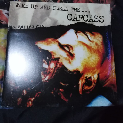 carcass - wake up and smell the... carcass, vinilo