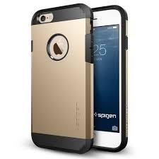 carcaza iphone 6/6s protector estuche spigen armor screen