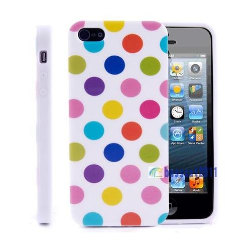 carcaza protector iphone 5g con  lunaeres multicolor! unicas