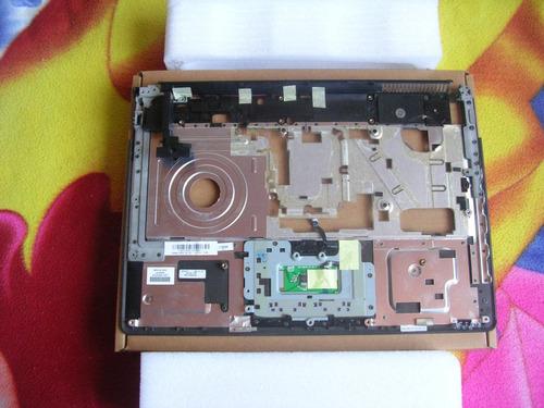 carcaza superior touchpad portatil f500 f700 pc compaq hp