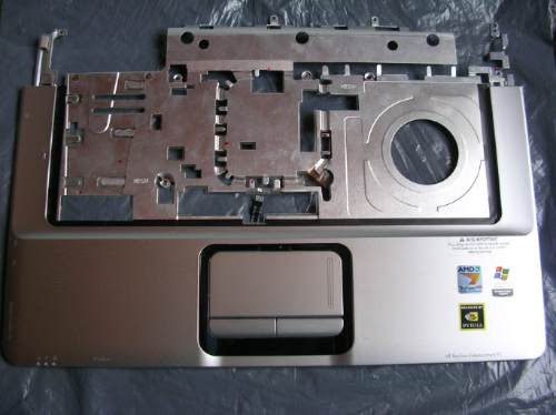 carcaza touch pad portatil compaq hp pavilion dv6000 pc