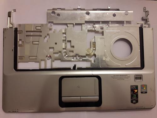 carcaza y pad notebook hp dv6700 (dv6921la)