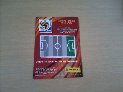 card 2010 fifa world cup south africa