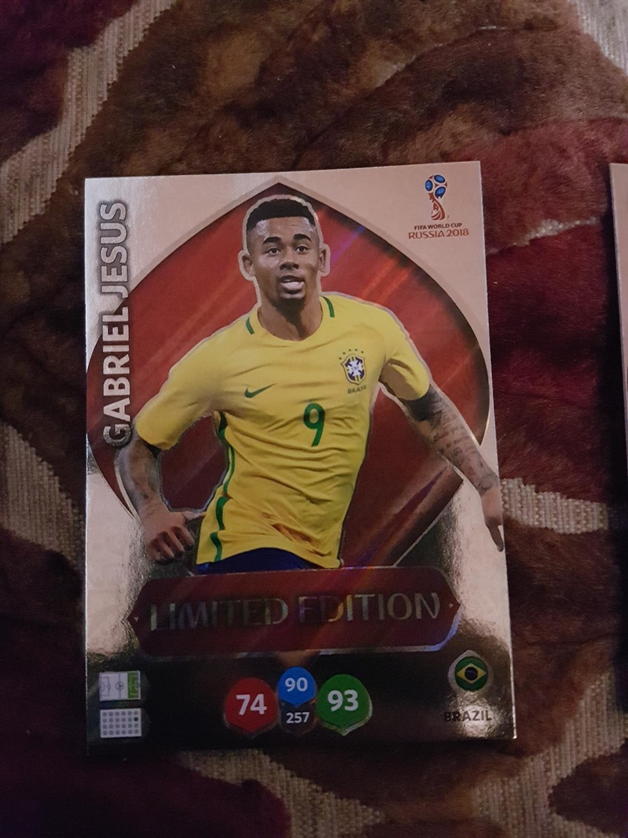 920f99ce993c card adrenalyn xl copa 2018 russia limited e. gabriel jesus. Carregando  zoom.