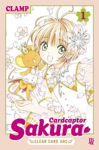 card captor sakura clear card 1! mangá jbc! novo e lacrado!