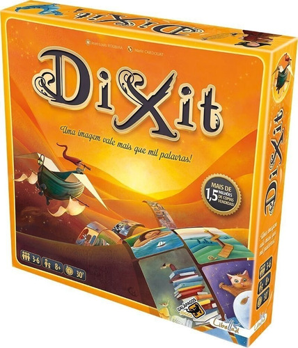 card game dixit - em português