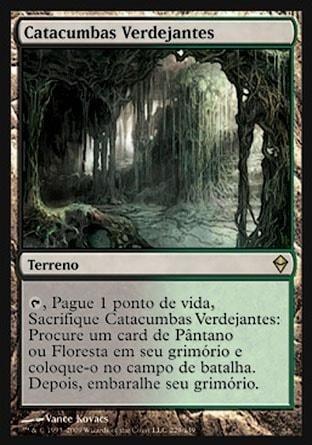 card magic catacumbas verdejantes / verdant catacombs / port