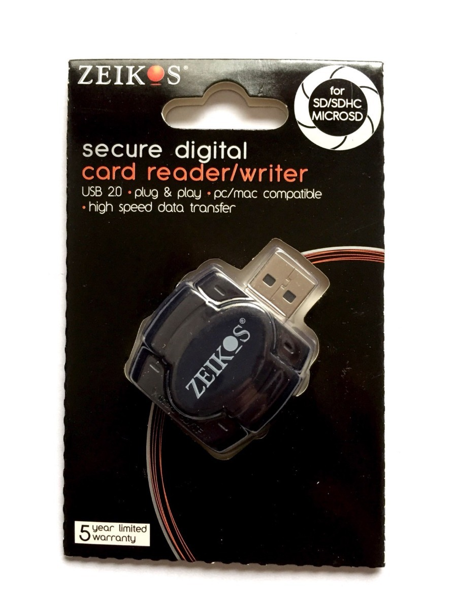 ZEIKOS USB CARD READER DRIVERS FOR WINDOWS