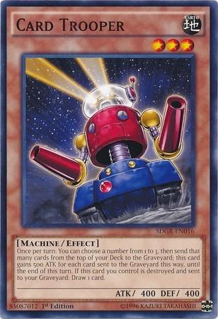 card trooper - sdgr-en016 - common 1st edition