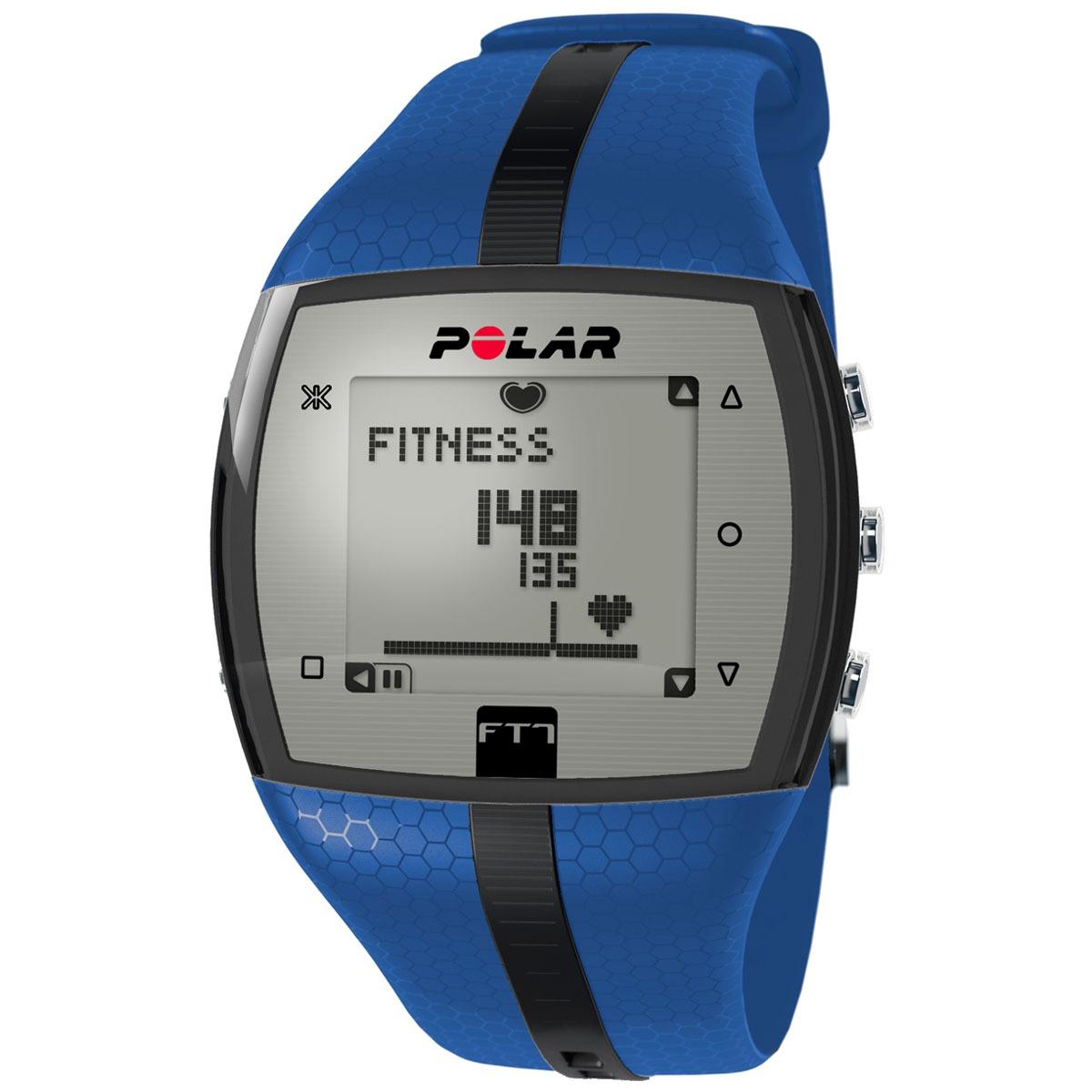 f670863ff6a Frequencímetro Relógio Monitor Cardíaco Polar Ft7 Azul Preto - R ...