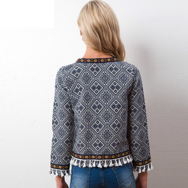 8cb1baa18a cardigan casaco blusa estampa étnica linda tendência estilo. Carregando  zoom.