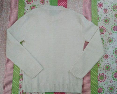 cárdigan de lana para niña