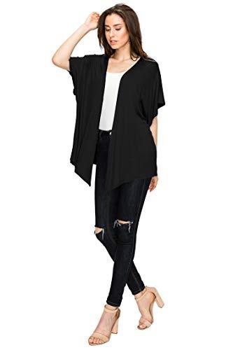 cardigan estilo kimono de manga corta para mujer mbj fabrica