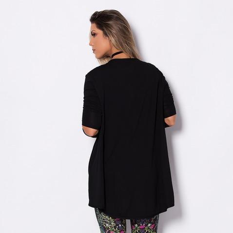 cardigan fashion black cs017