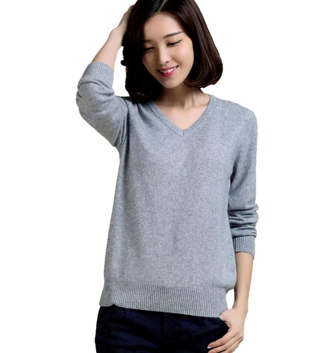d0bbb167a cardigan fechado blusa de frio suéter de lã tricô inverno. Carregando zoom.