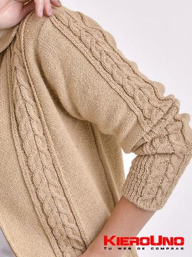 cárdigan mujer campera de lana sweater saco kieronuo
