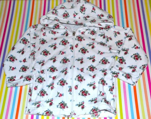 cardigan plush junior nena flores 18 meses little treasure