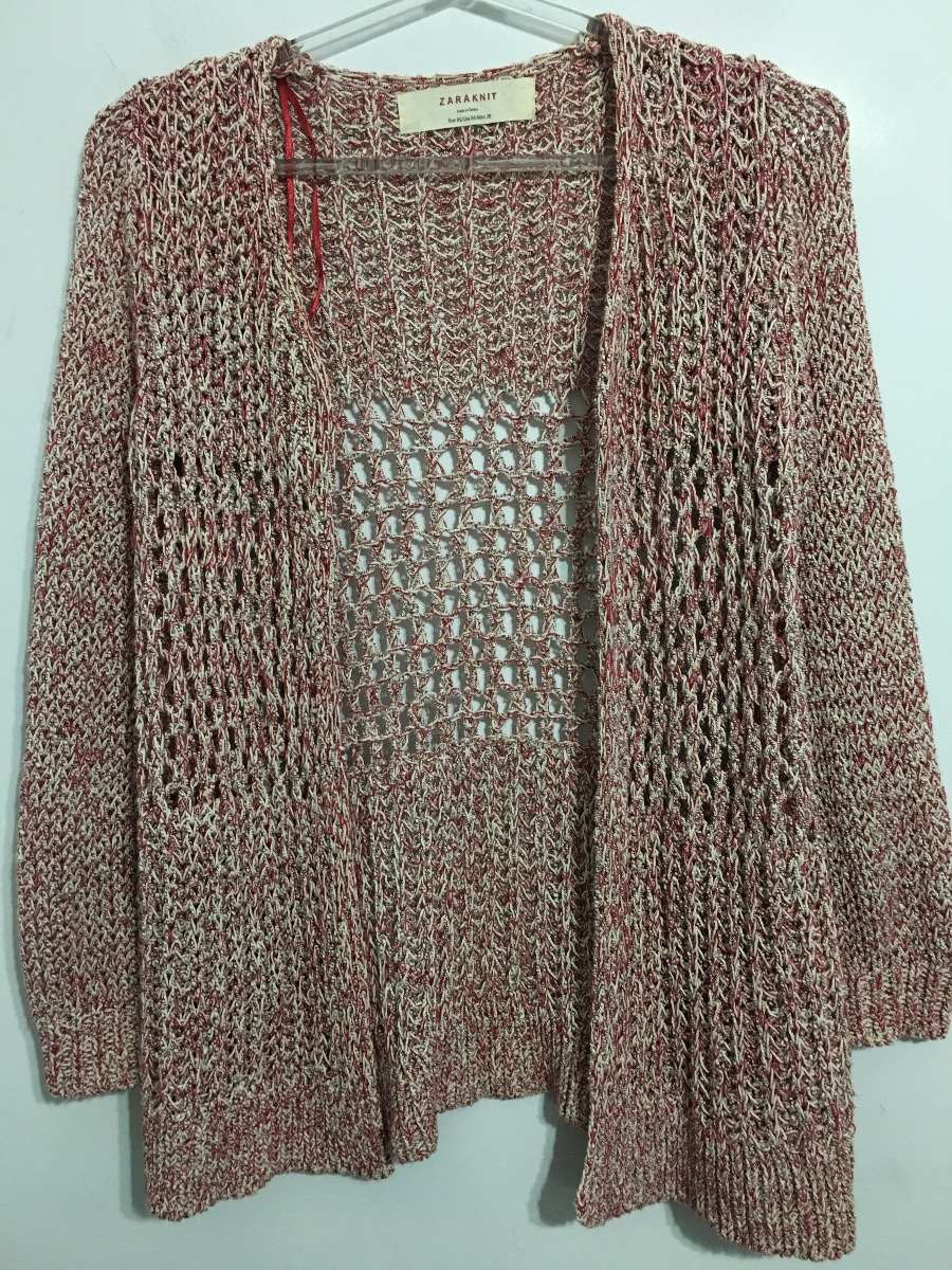 alta calidad entrega gratis predominante Cardigan Saco Calado De Mujer Marca Zara Talle M - $ 450,00