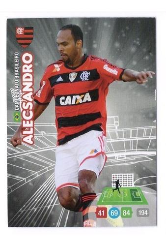 cards adrenalyn brasileiro 2014 - base flamengo alecsandro