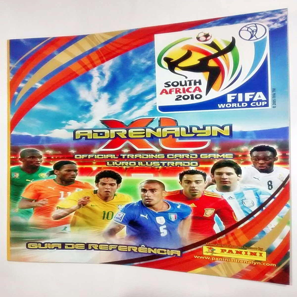 Cards Adrenalyn Copa Do Mundo Da Fifa 2010 Panini - R  120 c0a48101c830a