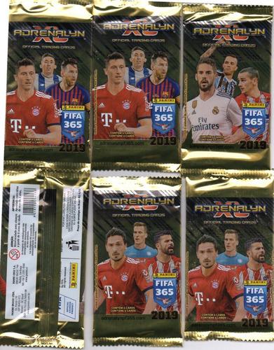 cards adrenalyn xl fifa 365 2019 240 cards 40 envelopes