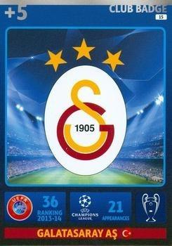 cards champions league 2014/15 logo escudo galatasaray