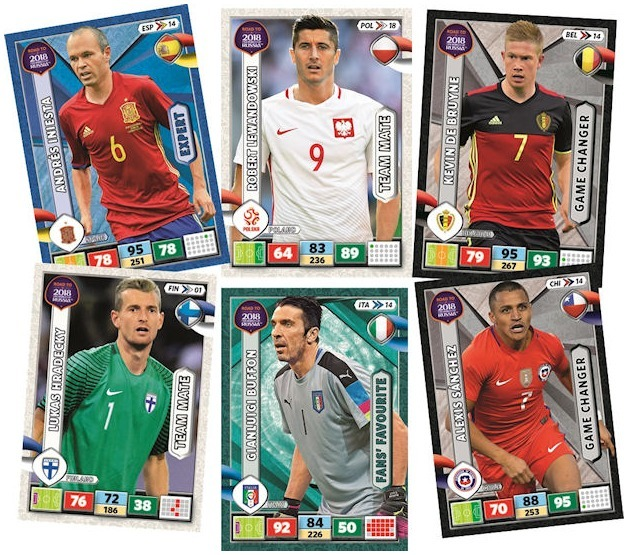 Campeonato Brasileiro Key Missing Players: Cards Copa Road Russia 2018