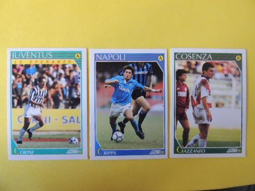cards de futebol italiano corini - gazzaneo- crippa  (j 70)
