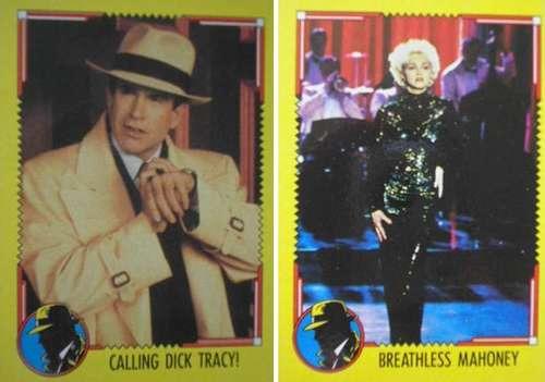 cards - dick tracy movie - coleção completa