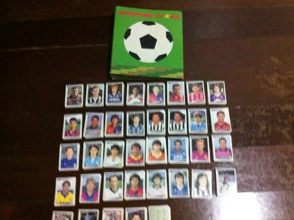 Cards Do Campeonato Italiano 91/92 (shooting Stars)