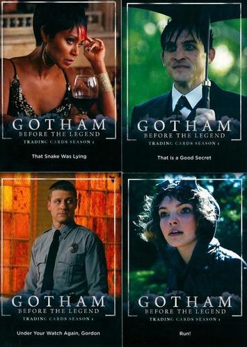 cards - gotham season 1 - batman - coleção completa