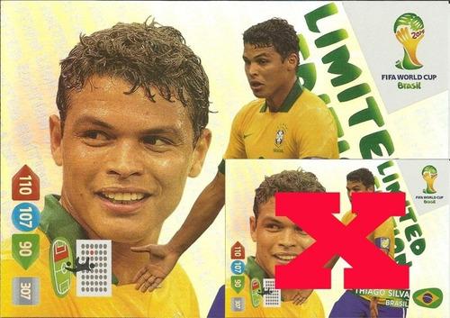 cards limited da copa 2014 - kit