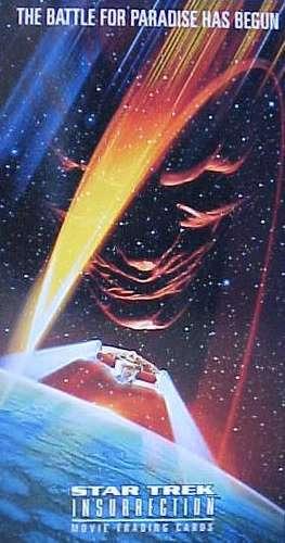 cards - star trek insurrection - coleção completa