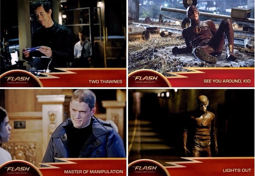 cards - the flash season 1 - coleção completa