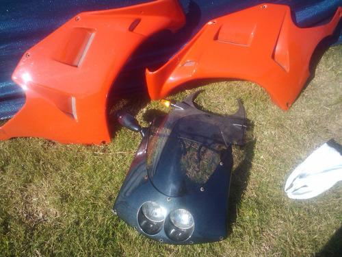 carenado moto derbi 75 con soporte