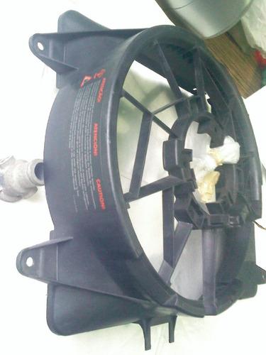 carenagem defletor ar radiador gol g2 g3, ventoinha original