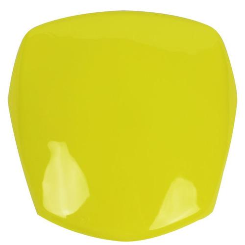 carenagem do farol sportive para pop 100 2007 - cor amarelo
