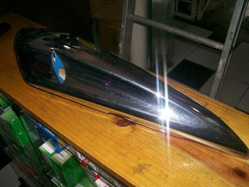 carenagem duto de ar direito cromado kasinski mirage 650