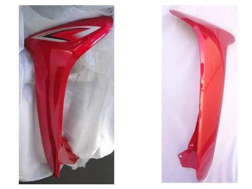 carenagem externa par vermelha phoenix gold shineray