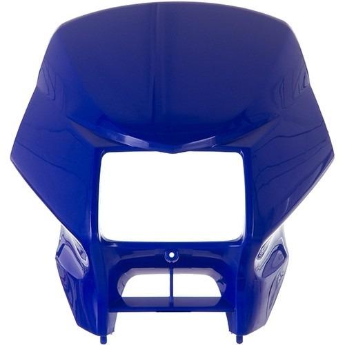 carenagem farol nxr150 2005 -2008 azul tk