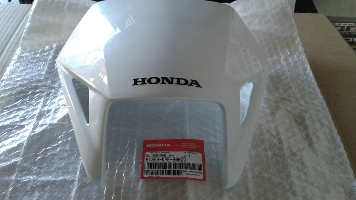 Carenagem Farol Xr Tornado Branca Original Honda D Nq Np Mlb F on Honda Xr 250