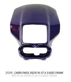 carenagem farol xr200 96-97 azul s/adesivo