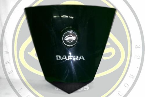 carenagem frontal emblema preto dafra citycom 300 50403-a21