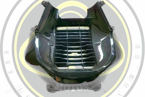 carenagem frontal radiador preta dafra citycom 300 50601-a21