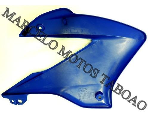 carenagem lat esq do tanque nxr 125 es bros 2005 azul