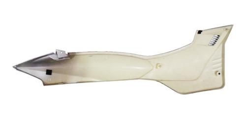 carenagem lateral traseira esquerda prata traxx joto 125