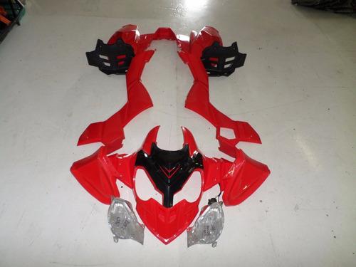 carenagem quadriciclo 300/350 cc chines azul